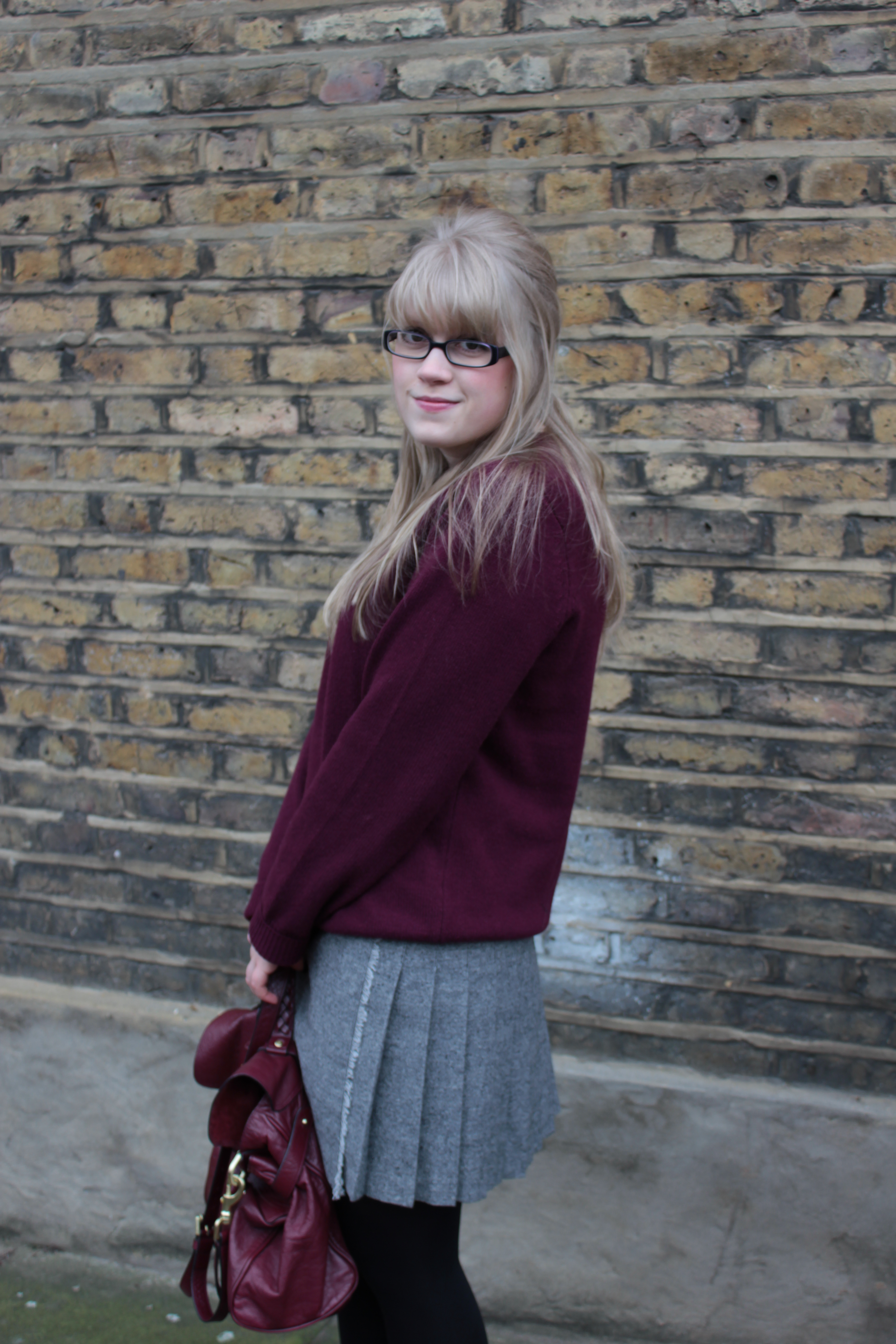 Tweed kilt Topshop