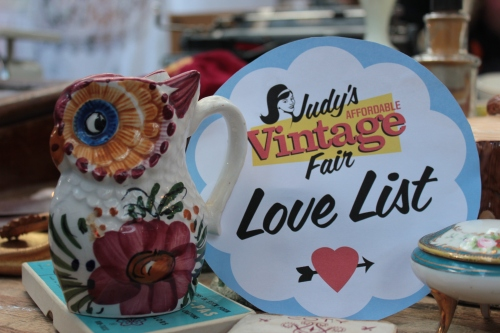 Judy's Affordable Vintage Fair Spitalfields