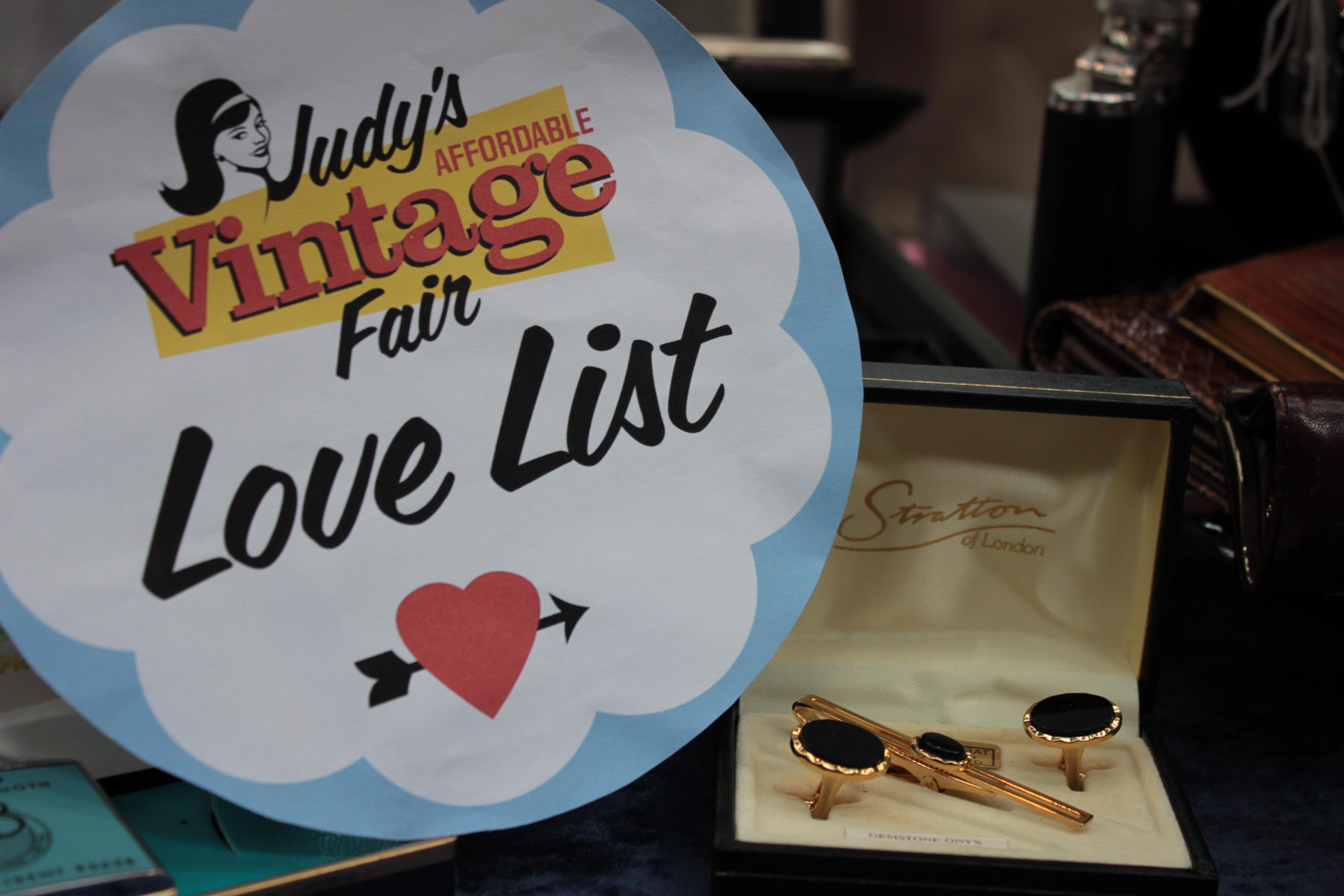 Judy's Affordable Vintage Fair Spitalfields