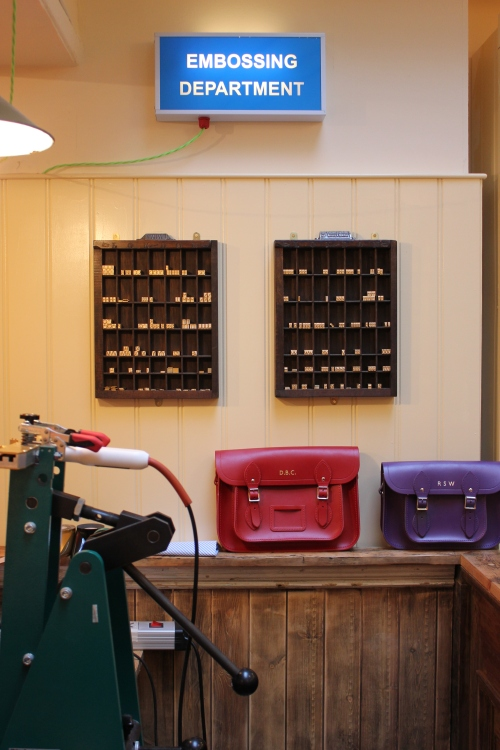 Cambridge Satchel Company shop Covent Garden