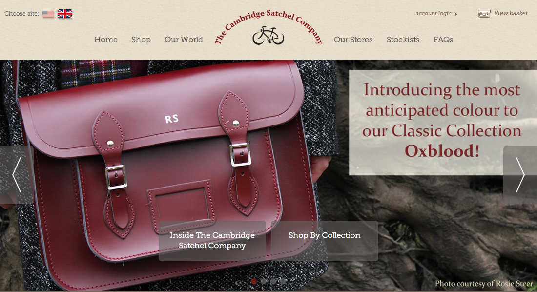 Oxblood Cambridge Satchel Everything Looks Rosie