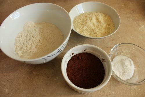 Chocolate chocolate chip cupcakes