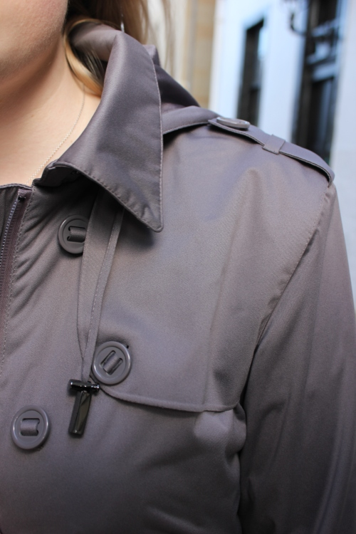Protected Species Trench Coat