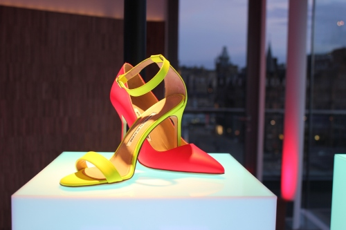 Manolo Blahnik Harvey Nichols Edinburgh