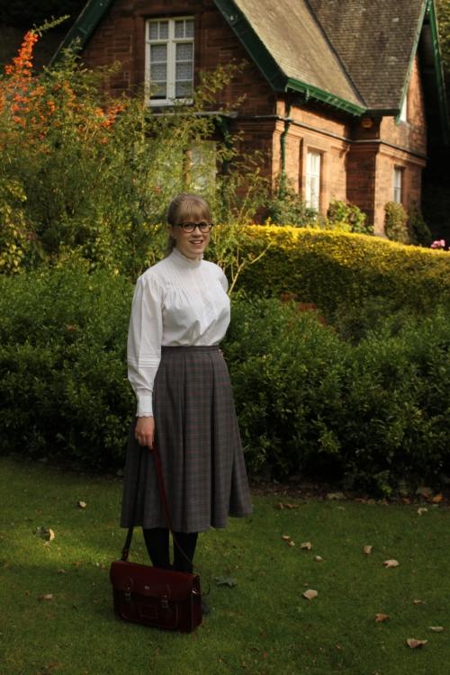 Handmade tweed skirt