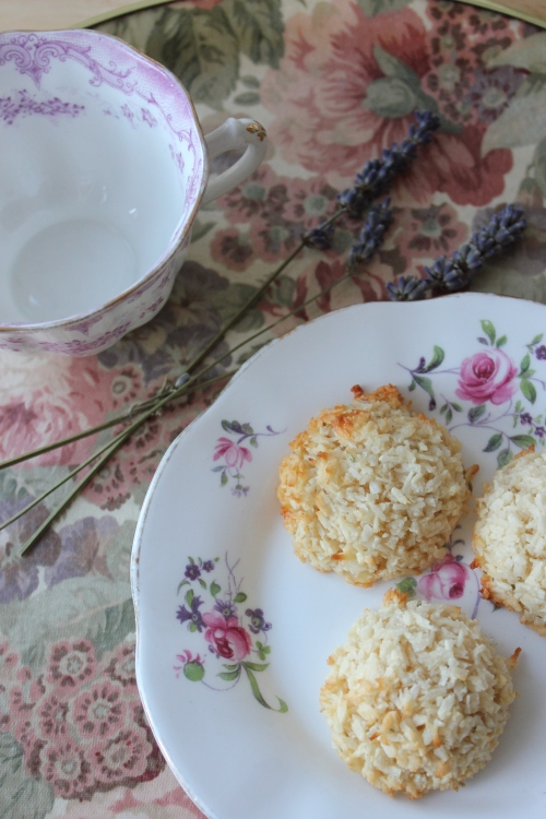 Lavender & Maple Coconut Macaroons