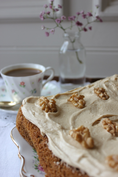 Rosie Makes Coffee And Walnut Traybake Everything Looks