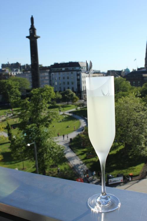 Grey Goose Pop-up Summer Terrace, Harvey Nichols Edinburgh