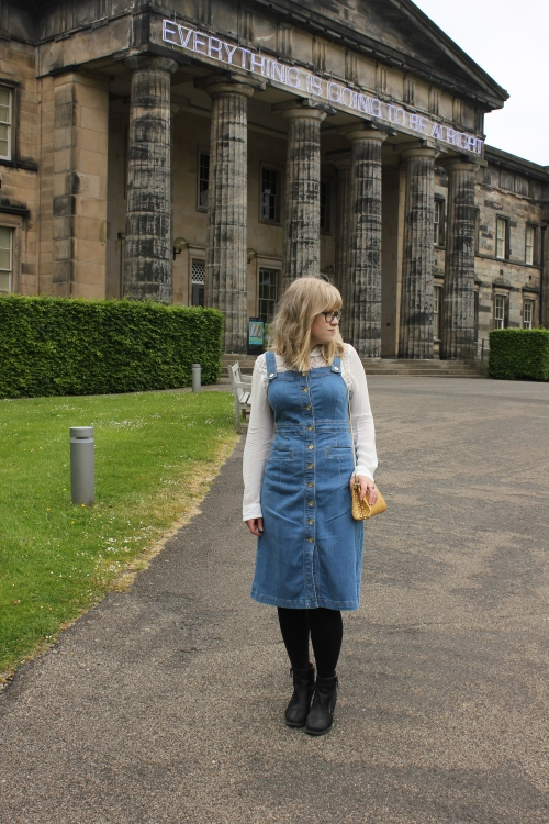 Marks & Spencer '70s Style Denim Pinafore