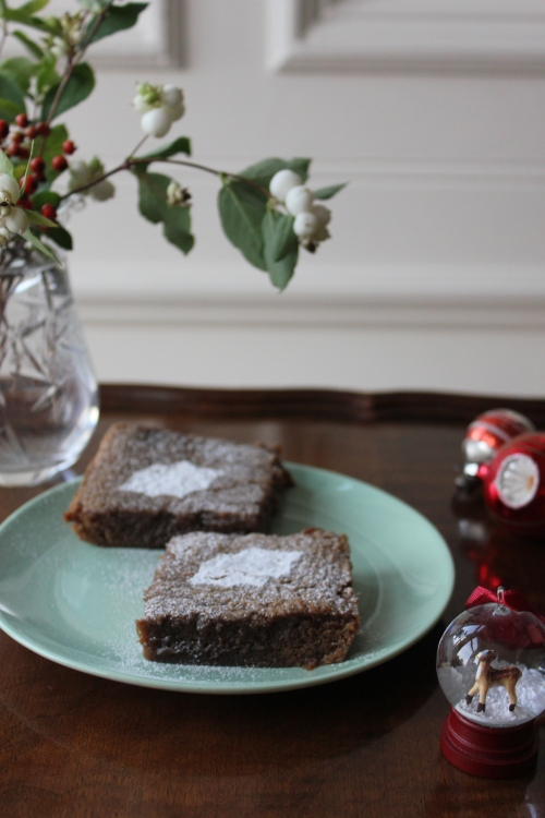 Christmas Peppermint Brownies