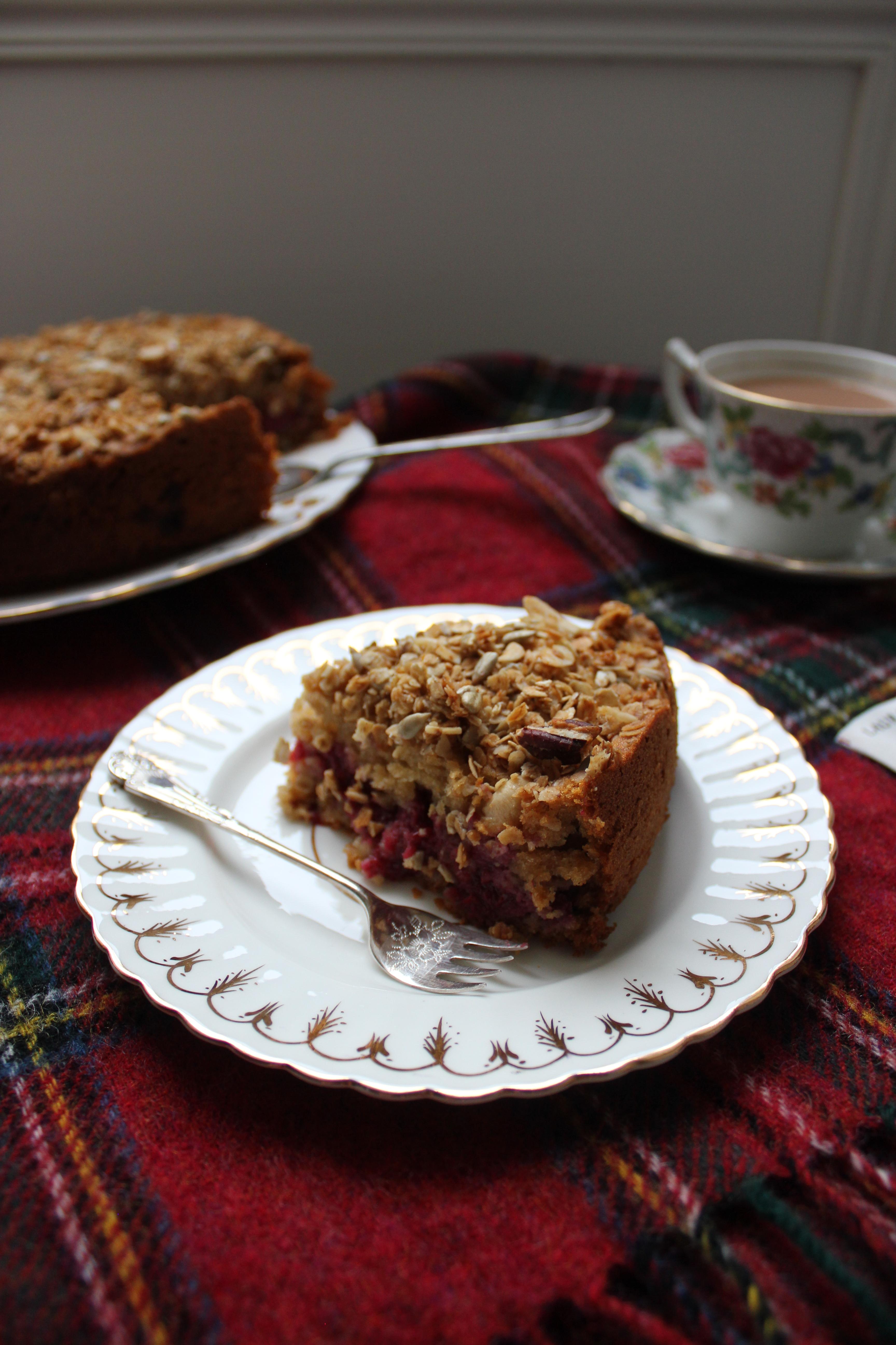Cranachan cake