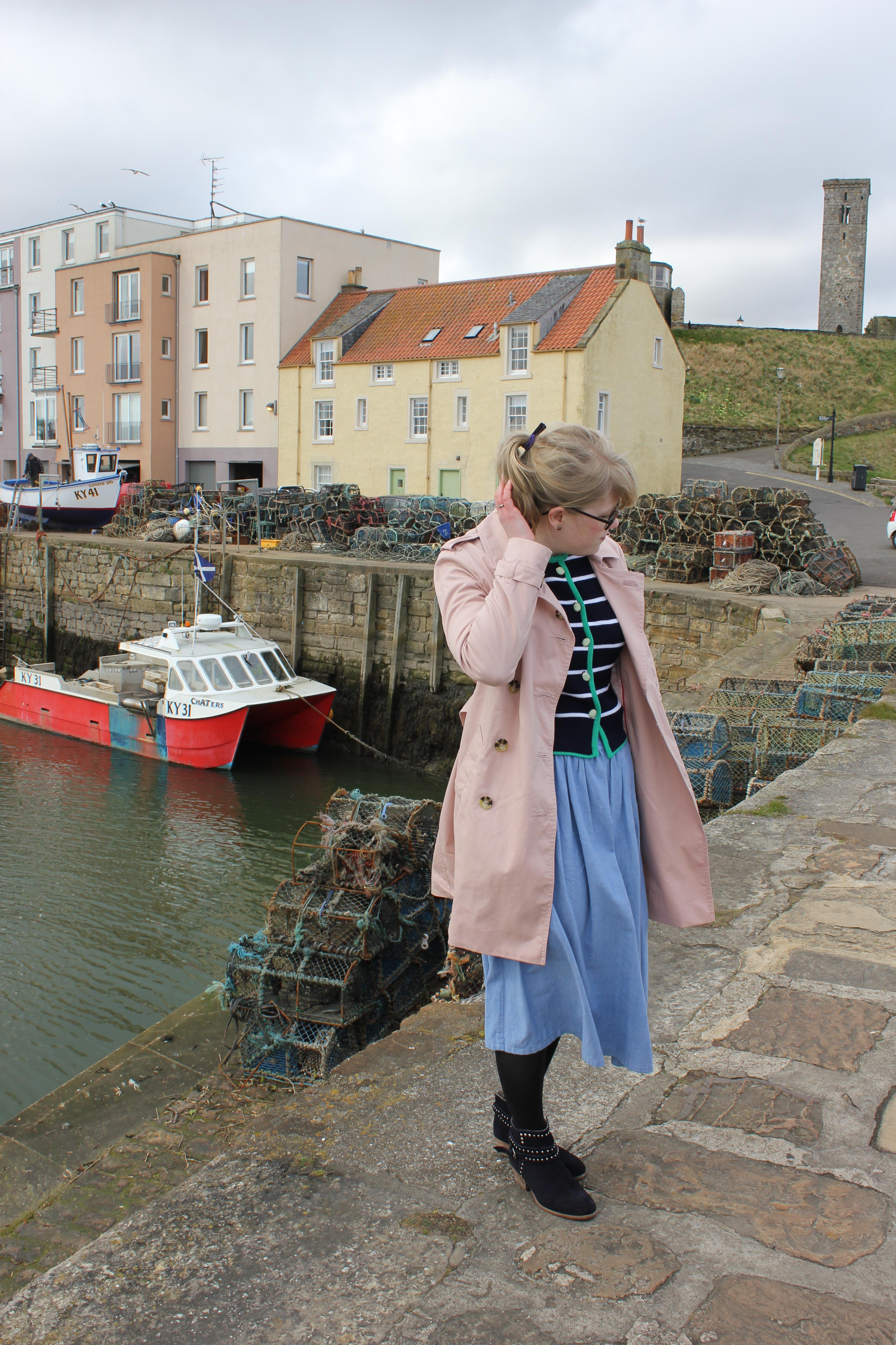 Vintage Breton Cardigan