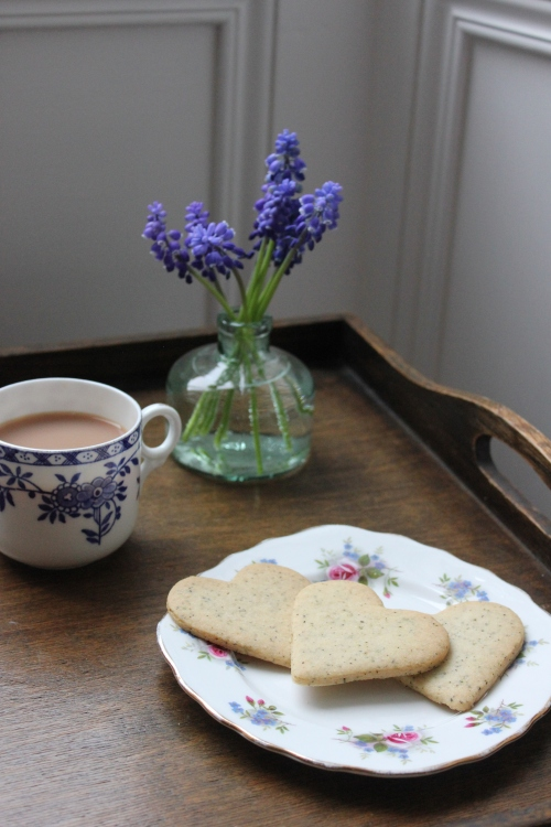 Earl Grey and Lemon Biscuits